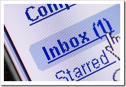 Email in Inbox
